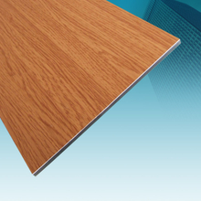 WOODEN FINISH ALUMINUM COMPOSITE PANEL FOR DECORATION